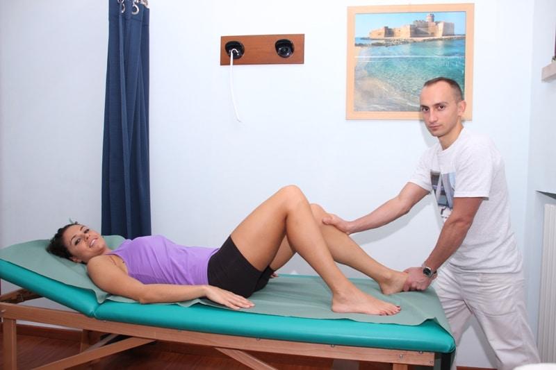 Schleimbeutelentzündung oder Bursitis am Knie