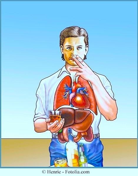 Rauchen,Schäden,Folgen