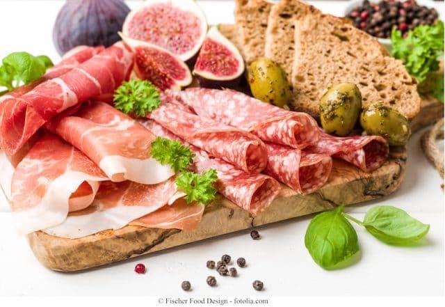 Schweinefleisch-Brot