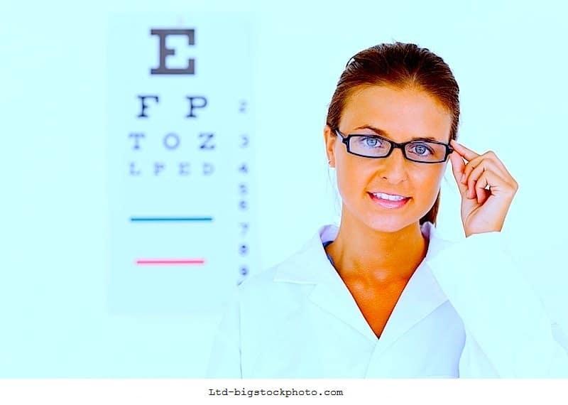 Sehverlust,Untersuchung,Augenarzt,Auswertung