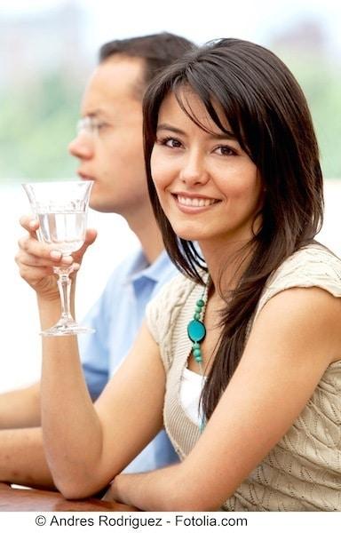 Junge Frau,trinken,Wasser