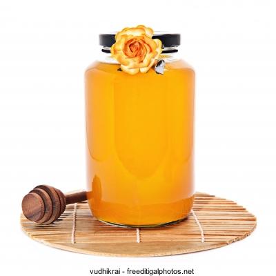 Honig,natürliche,Heilmittel,Husten
