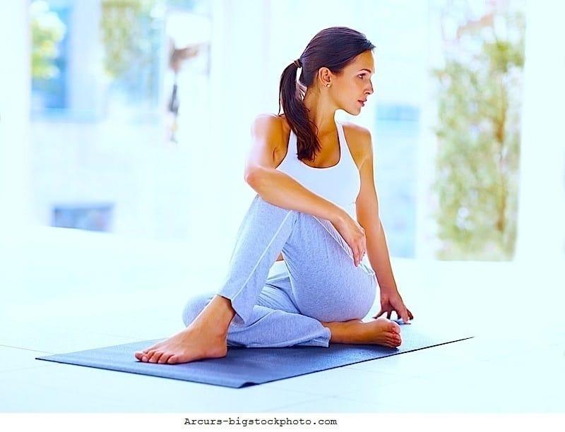 Übungen,Gymnastik,Rückenschmerzen