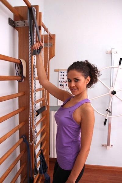 Übungen,Depressoren,Schulter,Rücken,rund,groß,klein,Elastikbänder