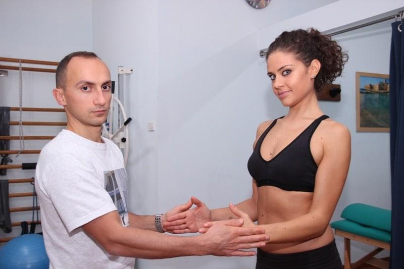 Rotatoren,Schulter,außen,Stärkung,isometrisch,Muskel
