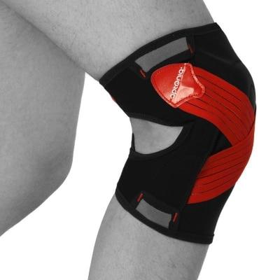 Kniebandage,nach,Verletzung,Schmerz,Kniescheibe,Bänder,Kontusion