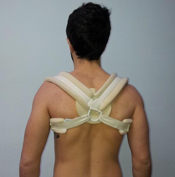 Bandage, Rucksackverband,Fraktur,Schlüsselbein,Clavicula,Schmerz,Kribbeln,Schulter,Hand,Finger
