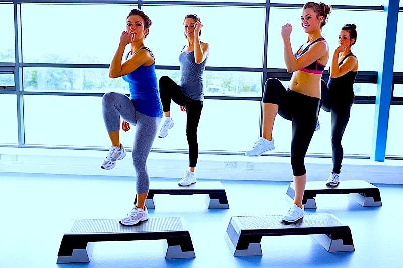 Aerobic,Übungen,Gymnastik,Training,körperlich