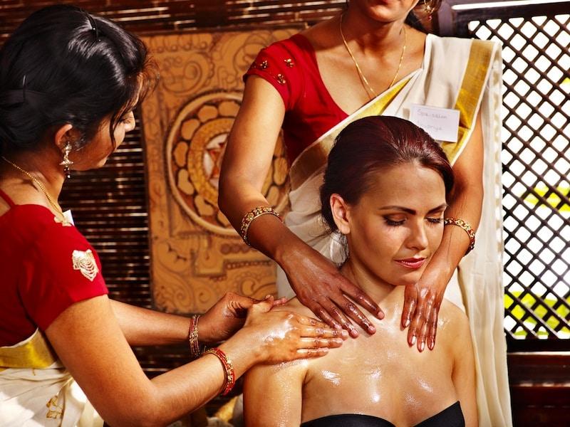 Ayurveda-Massage,Entspannung,Muskeln