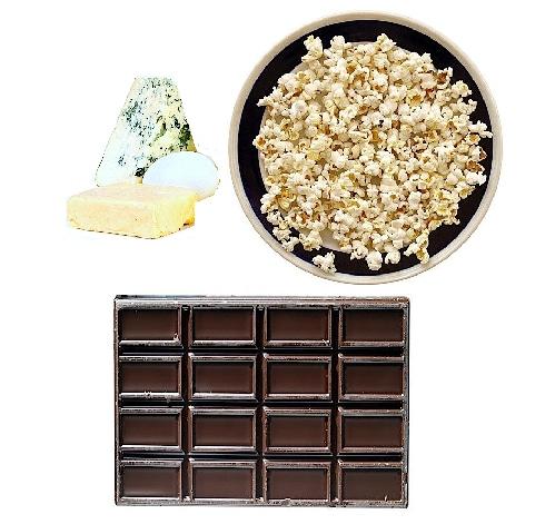 Cephalgie,nach dem Essen,Nahrungsmittel,Schokolade