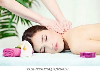 Massage,Nacken,entspannend