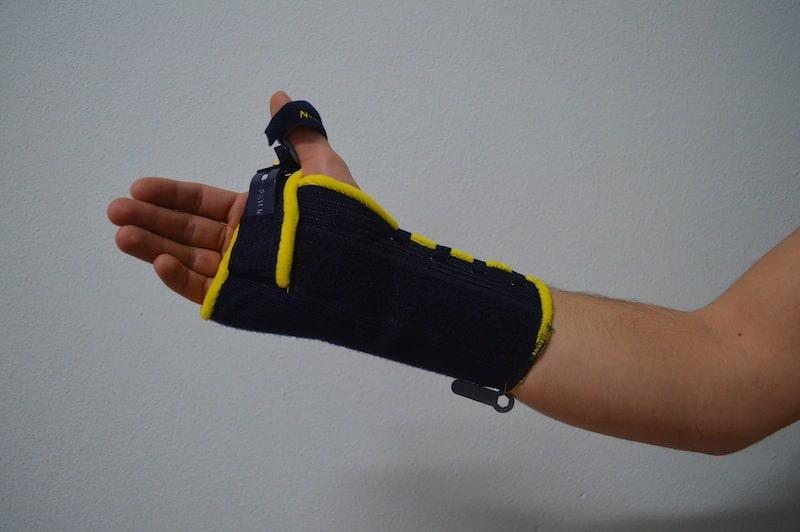 Handgelenkstütze,Orthese,Handgelenk,Blockade,Bewegungen,Schmerz,Fraktur,Kontusion,Sehnenentzündung
