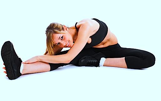 Stretching,Beuger,Knie,Bizeps femoris,Oberschenkel,hintere