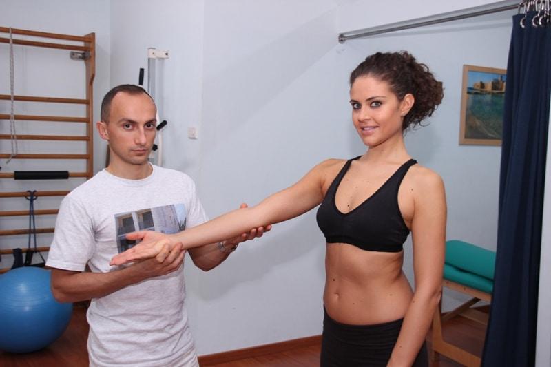 Fraktur,Unterarm,Ellenbogen,Sudeck'sche Dystrophie,Übung,Dehnung