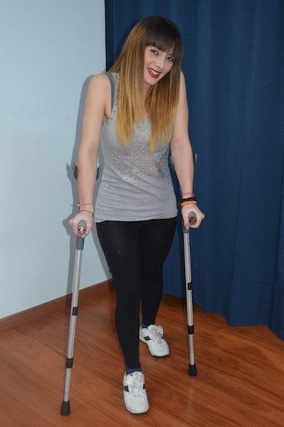 Gehen,Krücken,fünfter,Mittelfußknochen,Schmerz,Heilung,Dauer,Wiederherstellung,Aktivität,Sport