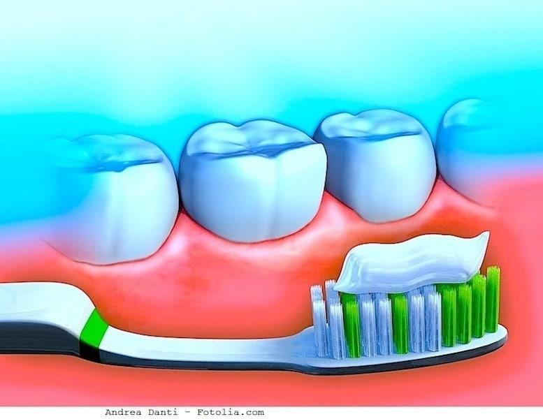 Zähne,Zahnpasta,Zahnbürste