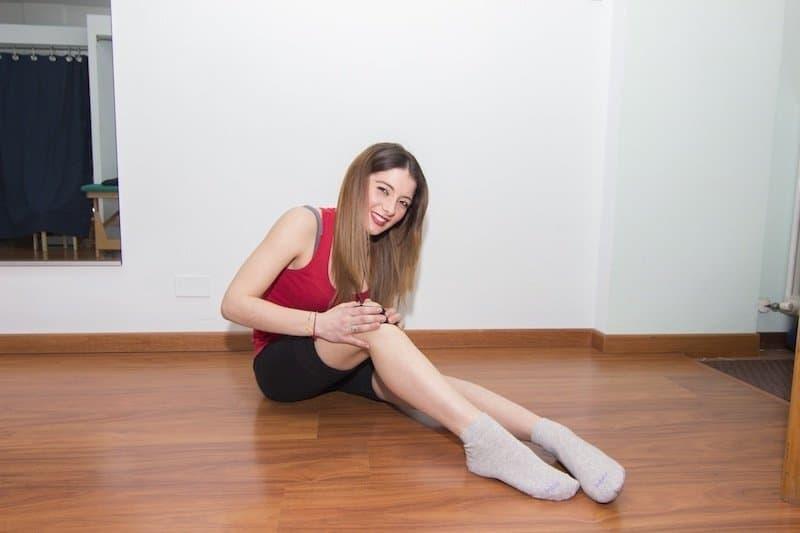Blaue Flecke an den Beinen