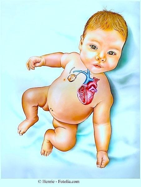 Kleines Kind,Herz