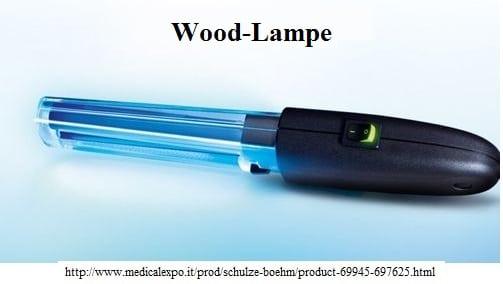 Wood-Lampe