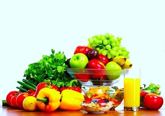 Obst,Gemüse,Prävention,Thrombose,venös,Phlebitis