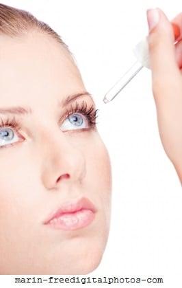 Blepharitis oder Augenlidentzündung