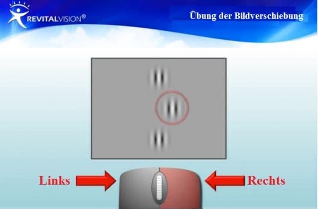 Revitalvision öbung Bei Schwachsichtigkeit