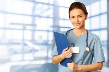 Ärztin, Untersuchung, Bericht