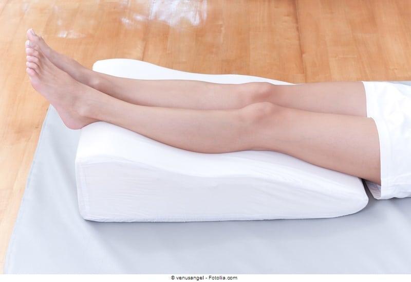 Geplatzte Äderchen an den Beinen