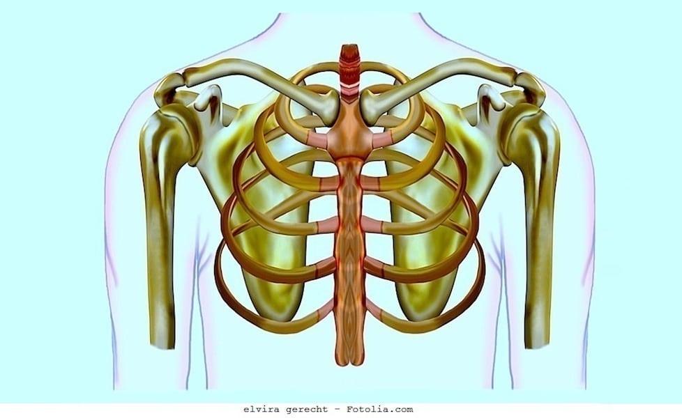 Rechtsseitiger Brustschmerz