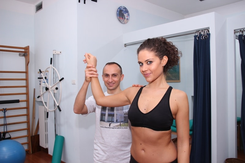 Schulterluxation oder Schulterverrenkung
