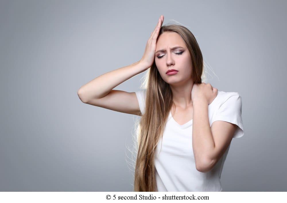 Symptome bei Spannungskopfschmerzen