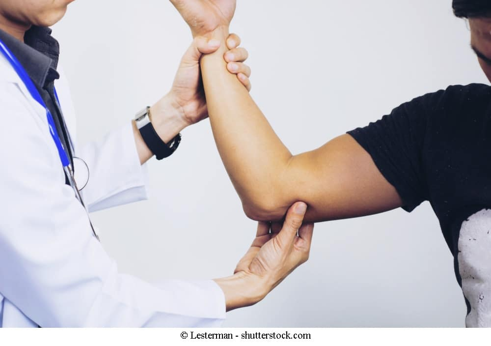 Tests bei Schulter und Armschmerzen