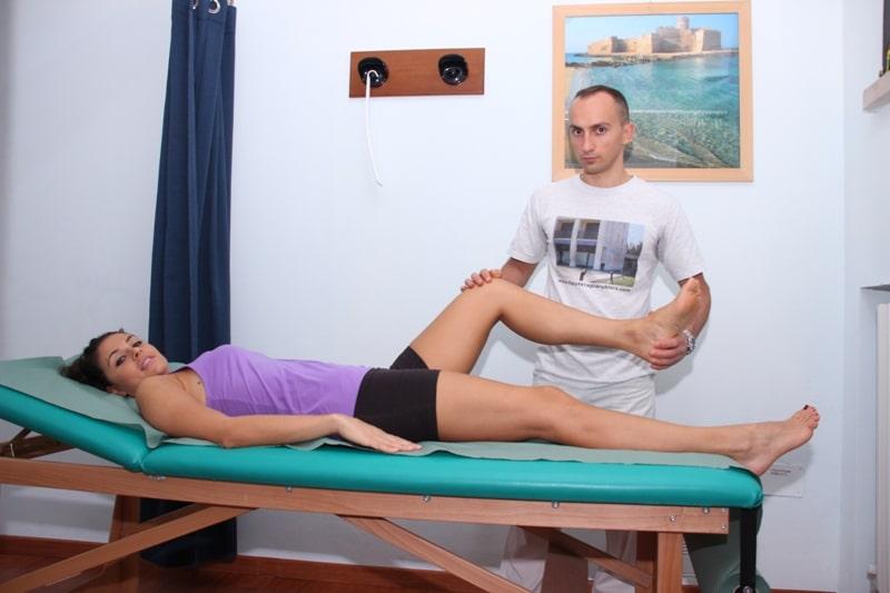 Verstauchung des Kniegelenks